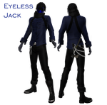 [MMD Newcomer] Eyeless Jack DL by Penellis