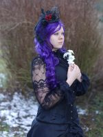Goth Girl - Stock 2 by Rosenrot-Photography
