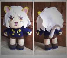Neferpitou Plush - Hunter x Hunter by sakkysa