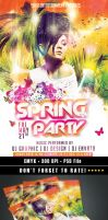 Spring-Party-Flyer--preview by HDesign85