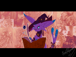 The Witch knows Everything by RenePolumorfous