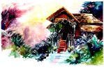 Pak Ali's House by luciole