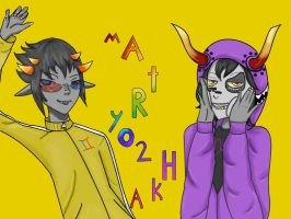 GaMzEe and Sollux -MaTrYo2hKa by MangaFreak45