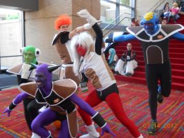 The Ginyu Force! by PsychoBabble192
