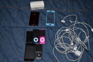 All The Apple Stuff I Own by Jaws1996