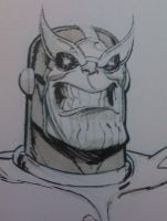 Thanos by Andrew Robinson by IamSpeck