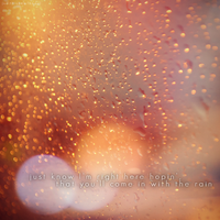 come in with the rain by sheisyourjuliet