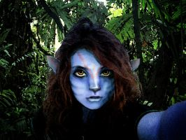 Me as Na'vi by katyandkipling