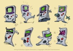 Captain N: GameBoy Designs by filbarlow