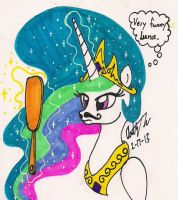 When Princess Celestia Woke Up by newyorkx3