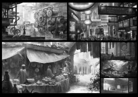 Just scenes by Elle-Shengxuan-Shi