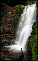 Blaen-y-glyn Waterfalls II by l8