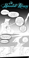 Hauted Library OCT Auduiton Comic Page - 01 by Alkogolik