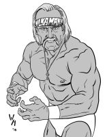 Hulk Hogan by quibly