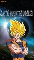 DBZ Goku is the HOPE of the Universe by Nakaso
