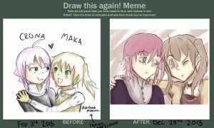 Improvement meme!! by Just-Me143