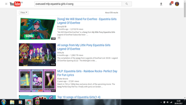 Even Youtube thinks Its overused XD by pokekid333
