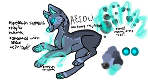 AEIOU {video inspired adopt-CLOSED} by Flare-goes-OM-adopts