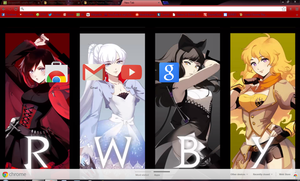 Rwby Chrome Theme (Download in Description!) by Tespeon