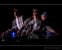 Triple Vision by mark-flammable