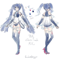 TDA Touch Miku by RandomDraggon