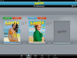 Sante Magazine - Ipad - 1 by JFDC