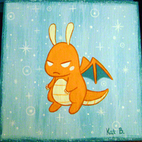Dragonite Painting by fuish