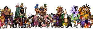Dressrosa char Gigant Batle Style Sprite by dDeAdLy