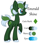 MLP:Emerald Shine Profile by kiananuva12