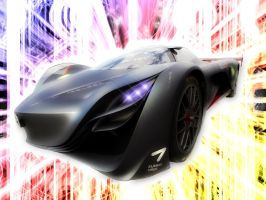Mazda Furai by Distorted-Colours