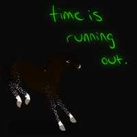 time is running out by pandorastables