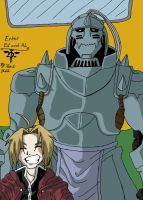Enter Ed and Al-First FMA Pic by Iziume89