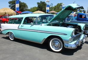 1956 Chevy Nomad by StallionDesigns