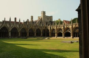 Canterbury Cathedral VII by YunaHeileen