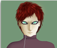 Pathetic, Pixelated Gaara by Xaite