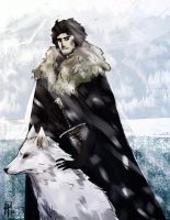jon snow by anti-pizza