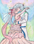 Helios and ChibiUsa wedding by 4naruto-girl