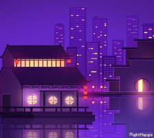 house on water by NightMargin