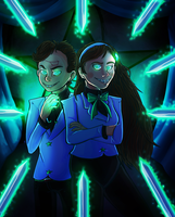 The Telepathy Twins by Forsaken-Spirits