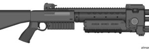 Misriah M45 Tactical Shotgun by Chris000