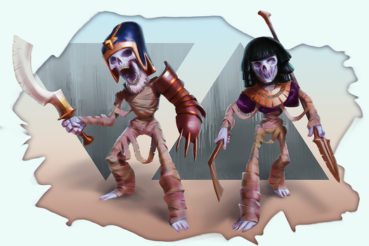 12-29-2015 Mummies by Makkon