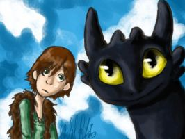 HtTYD-Stare by Cloudghost