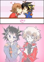 .:YuseixJudai-CrazyloveXD:. by crystalheartXD