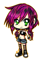 Chibi Alex by AderiAsha