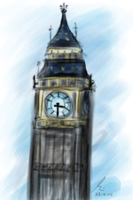 England:- BIG BEN by Eziara