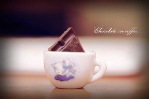 Chocolate in coffee... by Zim2687