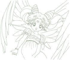 Angel ChibiUsa Moon Princess by usagisailormoon20