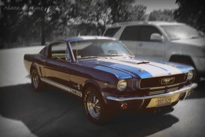 Shelby Mustang Cobra by akane-no-Hime