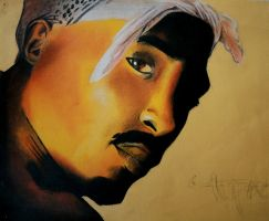 2Pac by Hankins