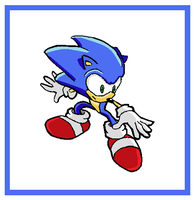 Sonic Sliding With Style by funkyjeremi